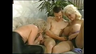 German mature threesome